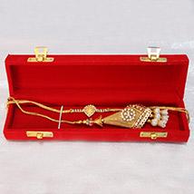 Golden Bhaiya Bhabhi Rakhi /></a></div><div class=
