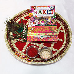An Exquisite Rakhi Thali /></a></div><div class=