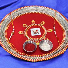 An Intricate Rakhi Thali /></a></div><div class=