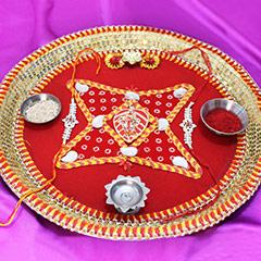 A Decorative Thali for Rakhi /></a></div><div class=