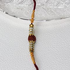 Divine Rudraksha Rakhi
