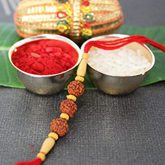Pure blissful Rakhi