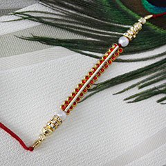 Sparkling Red Rakhi