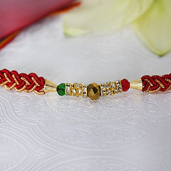 Colourful Rakhi for Bro