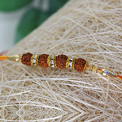 Beauty in Divinity Rakhi