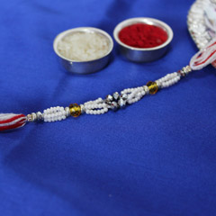Beautifully Beaded Rakhi