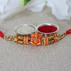Ganesha For Luck Rakhi