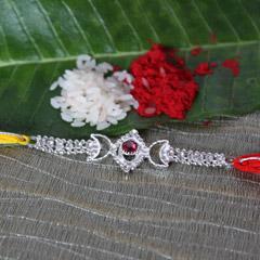 Stone Studded Dazzling Rakhi /></a></div><div class=