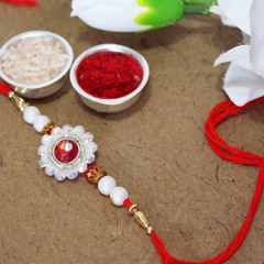 Dazzlingly Bright Rakhi Thread