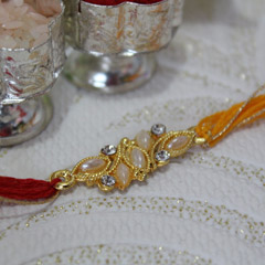 Sober Beaded Rakhi