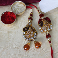Magnificently Royal Lumba Rakhi /></a></div><div class=