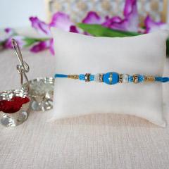 Elegant Blue Rakhi