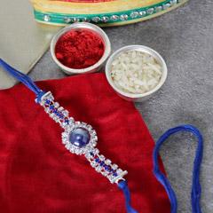 Dazzling Blue Rakhi