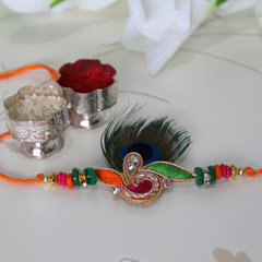 Aamzingly Colourful Rakhi