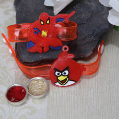 Spider Man & the Angry Bird