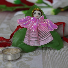 Cute Pink  Doll Rakhi