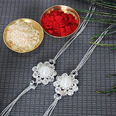 Pearly Flowery Rakhis /></a></div><div class=