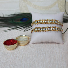 Stone Studded Beaded Rakhis /></a></div><div class=