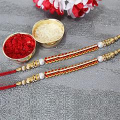 Stunning & Sparkling Rakhi Set