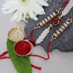 Unique & Sassy Rakhi Set