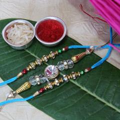 A Sparkling Rakhi Trio
