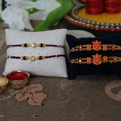 Affectionate Rakhi Set