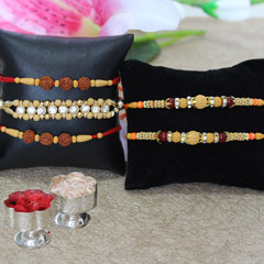 Enlightening Rakhi Set