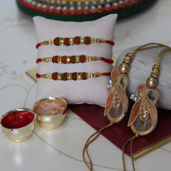 The Luckiest Rakhi Set