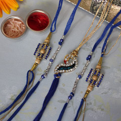 5 Captivating Rakhi Set