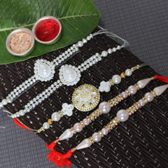 Mesmerizingly Beautiful Rakhi Set