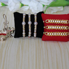 Pretty & Perfect Rakhi Set