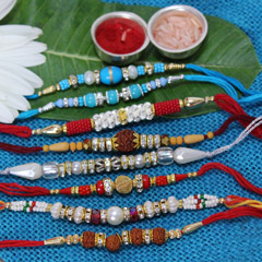 Fascinating Rakhi Set