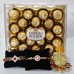 Chocolaty Rakhi Delight