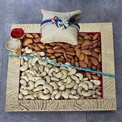 Cashews, Almond & Rakhi Combo