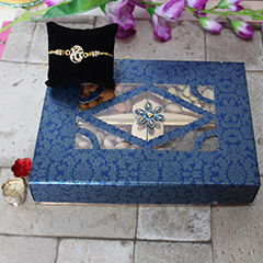 Dryfruits Box and Rakhi