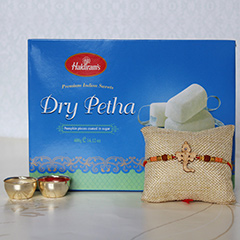 Dry Petha with Rakhi
