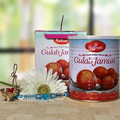 Yummy Gulab Jamun with Rakhi