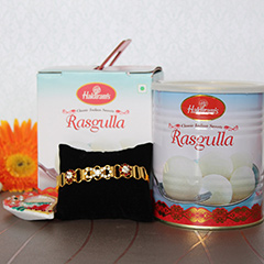 Tempting Rasgulla with Rakhi /></a></div><div class=