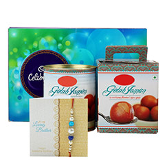 Celebration with Gulab Jamun