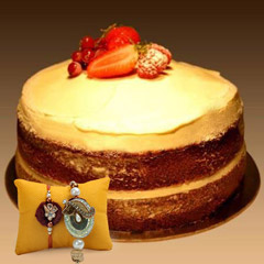 Carrot Cake with Rakhi