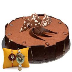 Tiramisu Cake with Rakhi