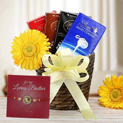 Choco Hamper with Rakhi