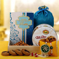 Rakhi Lumba Set with Almond