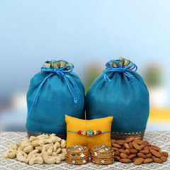 Delicious dry fruits hamper
