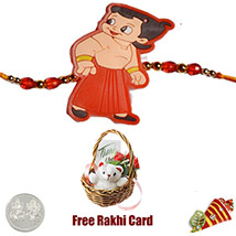 Kids Rakhi with Teddy Bear