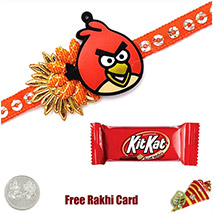 Kids Rakhi with Kitkat Bar