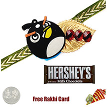 Kids Rakhi with Hershey