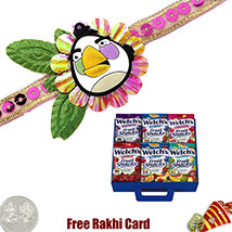 Fruit Snack Kids Rakhi 5 Snacks
