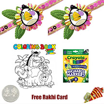 Kids Rakhi Coloring Pack 2