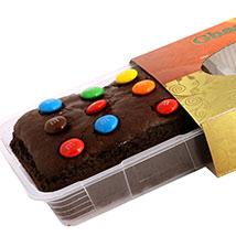M & M Chocolate Cake
